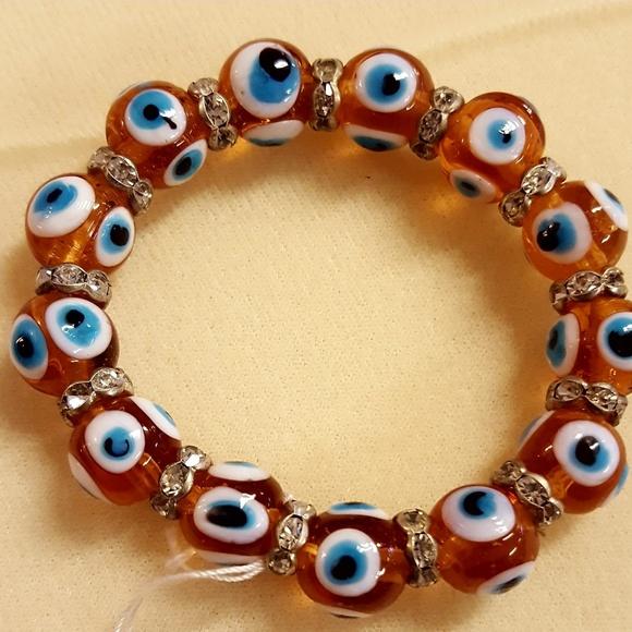 Other - Evil Eye Stretch Bracelet